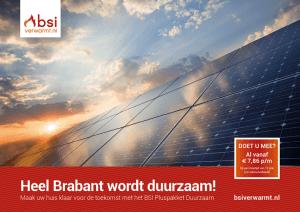 BSI Duurzaamheid actie