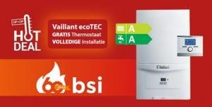 Vaillant EcoTec pure CW4 aanbieding